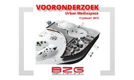 Vooronderzoek BZG - Urban Mediaspace - Saxion Hogeschool Enschede Bouwkunde