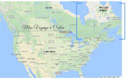 Mon Voyage à Québec