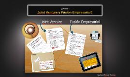 Joint Venture y Fusión Empresarial