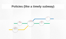 Policies (like a timely subway)
