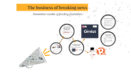 The business of breaking news