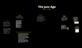 Copy of The Jazz Age