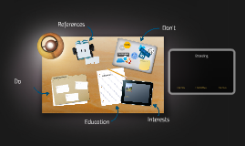 Interactive presentation: Branding (inner - outer / personal - company)