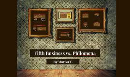 Fifth Business vs. Philomena