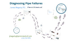 Diagnosing Pipe Failures