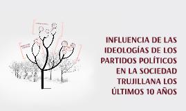 INFLUENCIA DE LAS IDEOLOGIAS DE LOS PARTIDOS POLITICOS EN LA