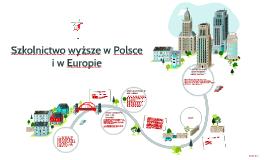 Szkolnictwo wyższe w Polsce i w Europie
