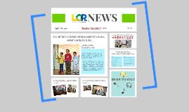 ACTIVIDAD SIGNIFICATIVA, LCR NEWS