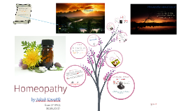 Copy of Homeopathy