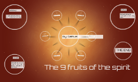 The 9 fruits of the spirit