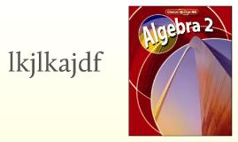 Algebra 2 Course Info