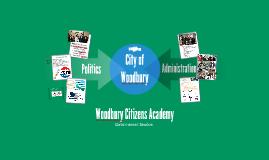 Woodbury Citizen's Academy