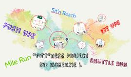 """""""FITT""""ness Project"""