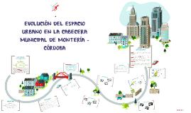 Copy of EVOLUCIÓN DEL ESPACIO URBANO EN LA CABECERA MUNICIPAL