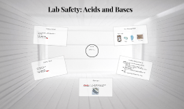 Lab Safety: Acids and Bases