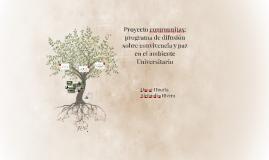 Proyecto communitas: