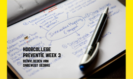 hoorcollege preventie week 3