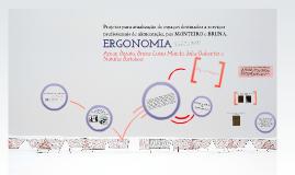 Projetos para atualização de espaços destinados a serviços profissionais de alimentação - ERGONOMIA
