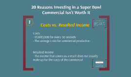 Investing in a Super Bowl Commercial