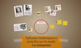 Influence historiques et actuelles sur la mode