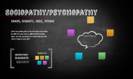 Sociopathy/Psychopathy