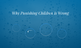 Why Punishing Children is Wrong