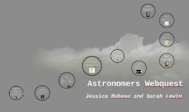 Astronomers Webquest