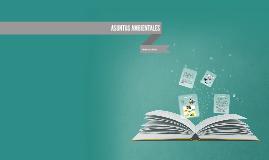 Copy of ASUNTOS AMBIENTALES