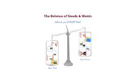 Copy of Needs & Wants