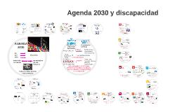Agenda 2030 y discapacidad