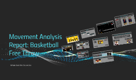 movement analysis in free throw Consider the movement that occurs at the knee, elbow, hip or shoulder for a free throw/layup in basketball • explain how this movement occurs • explain why this movement occurs free throw: knee = hinge joint movement is getting into flexion in the preparation phase for the free throw agonist is the hamstring quadriceps is the.