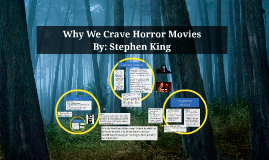 why we crave horror movies a Why we crave horror movies t rueda mindmap: guest/why we crave horror  movies t rueda bg why we crave horror movies excitement to prove we are  not.