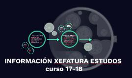 INFORMACIÓN XEFATURA ESTUDOS