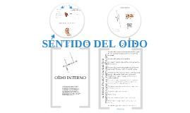 SENTIDO DEL OÍDO