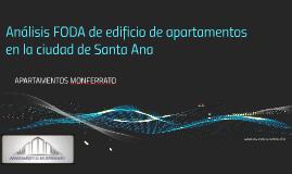 Análisis FODA de edificio de apatamentos en la ciudad de San