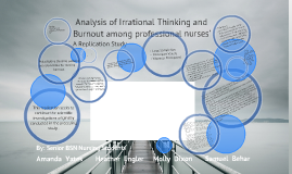 a concept analysis of burnout within the nursing profession Nursing theory and concept development or analysis burnout contagion among intensive care nurses arnold b bakker phd professor, department of social and organizational psychology, utrecht university, utrecht, the netherlands.