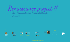Renaissance Project SS