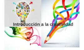 Introducción a la creatividad