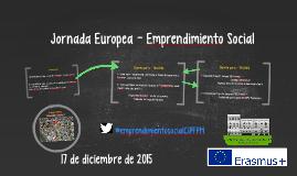 Jornada Europea - Emprendimiento Social