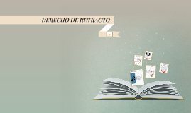 DERECHO DE RETRACTO