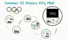 Sommar OS Mexico City 1968