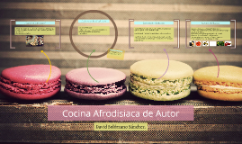 Cocina Afrodisiaca de Autor