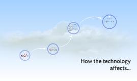 Como afecta la tecnologia en...