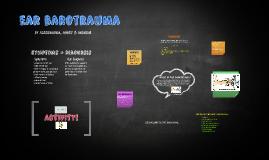 Sec.3 disciplinary project: Ear Barotrauma