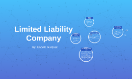 Copy of Limited Liability Company