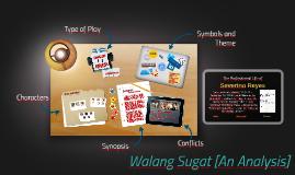 Copy of Walang Sugat [An Analysis]