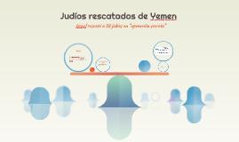 Judíos rescatados de Yemen
