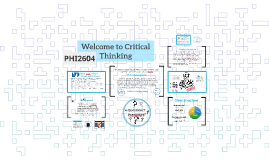 Welcome to Critical Thinking