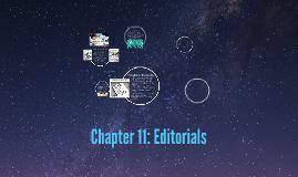 Chapter 11: Editorials Journalism