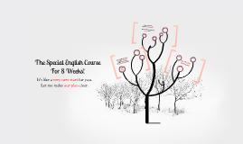 8주 동안의 특별한 영어 수업